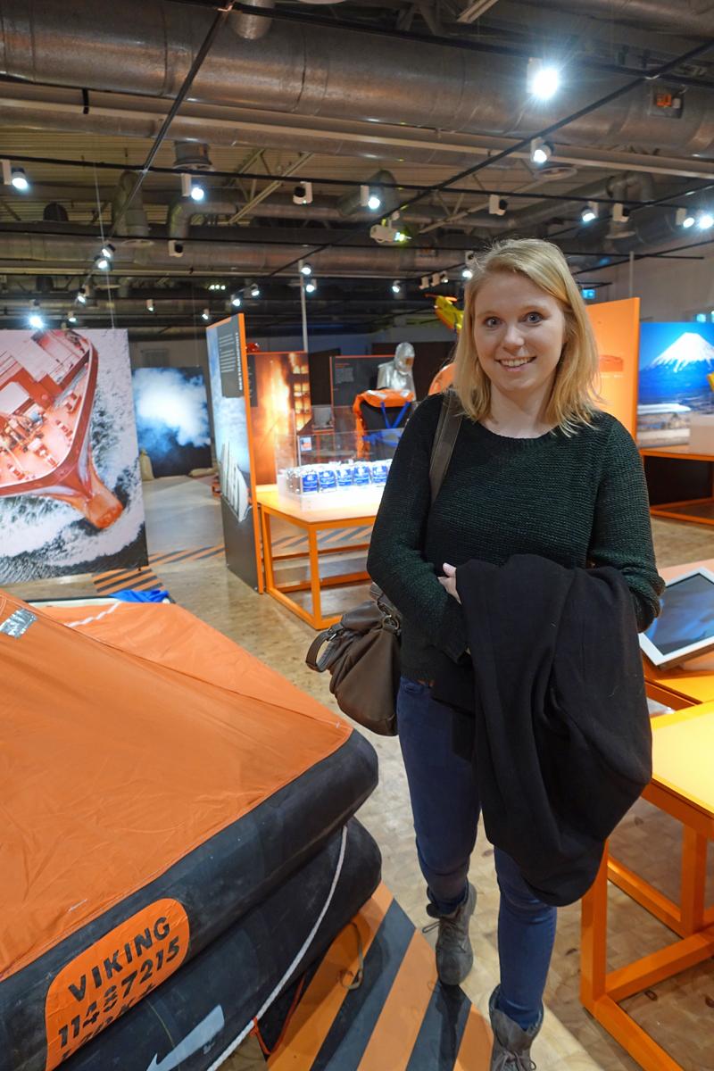 """In der Sonderausstellung """"Alarmstufe Rot"""" der DASA Arbeitswelt Ausstellung in Dortmund"""