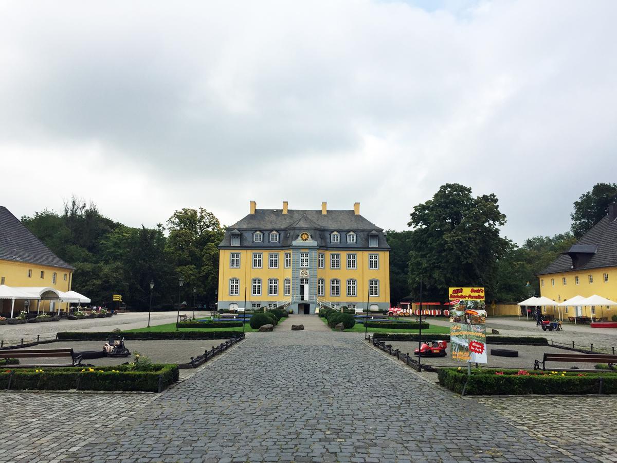 Das Schloss Beck in Bottop-Kirchhellen