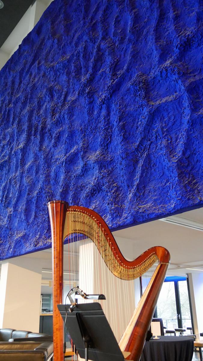 Harfe beim Musikbrunch im Musiktheater im Revier