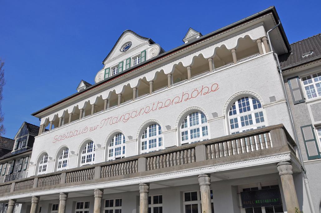 Gasthaus zur Margarethenhöhe auf der Margarethenhöhe in Essen.