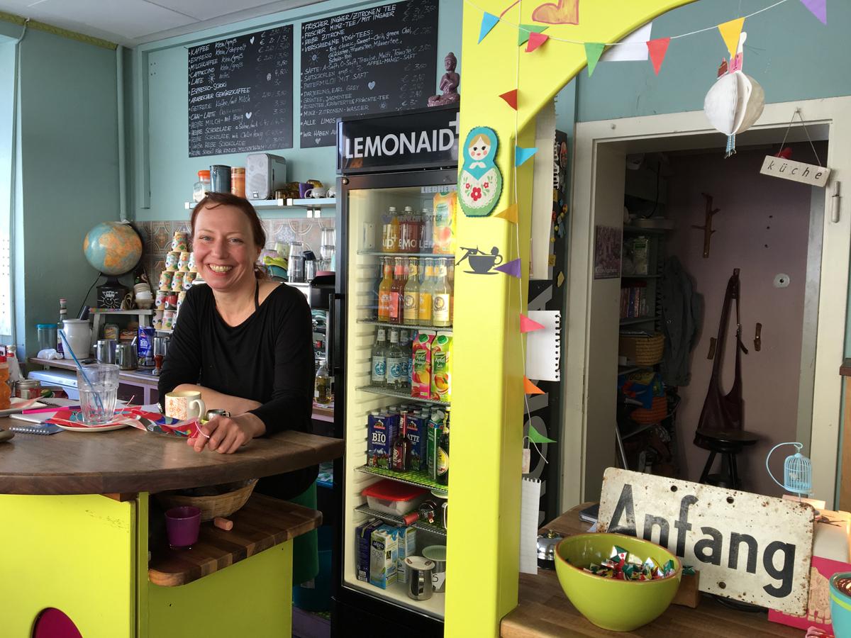 Nina Oberheitmann, Mitgründerin & Betreiberin von Fräulein Coffea