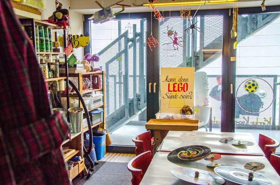Das Foto zeigt das Unperfekthaus - ein Ort mit kreativem Flair in Essen