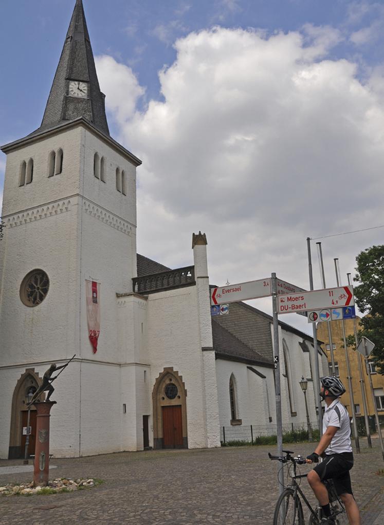 Im historischen Ortskern kann man ein kleines Päuschen einlegen und die Kirche oder andere alte Gebäude bewundern.