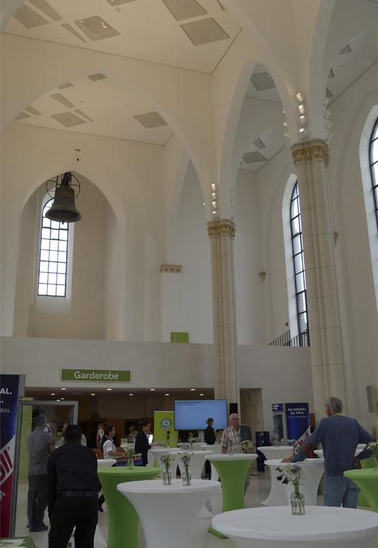 Das Foto zeigt das Anneliese-Brost-Musikforum in Bochum.