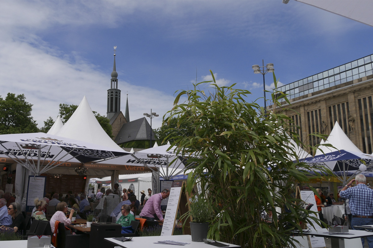 """Das Foto zeigt das Gourmet-Festival """"Dortmund à la Carte""""."""