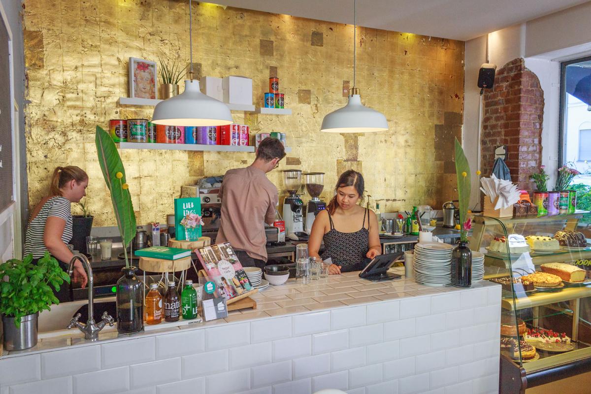 Das Foto zeigt das Café Kieztörtchen im Dortmunder Kreuzviertel