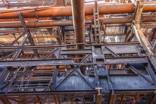 IndustriechDas Foto zeigt den Skywalk Phönix West in Dortmund