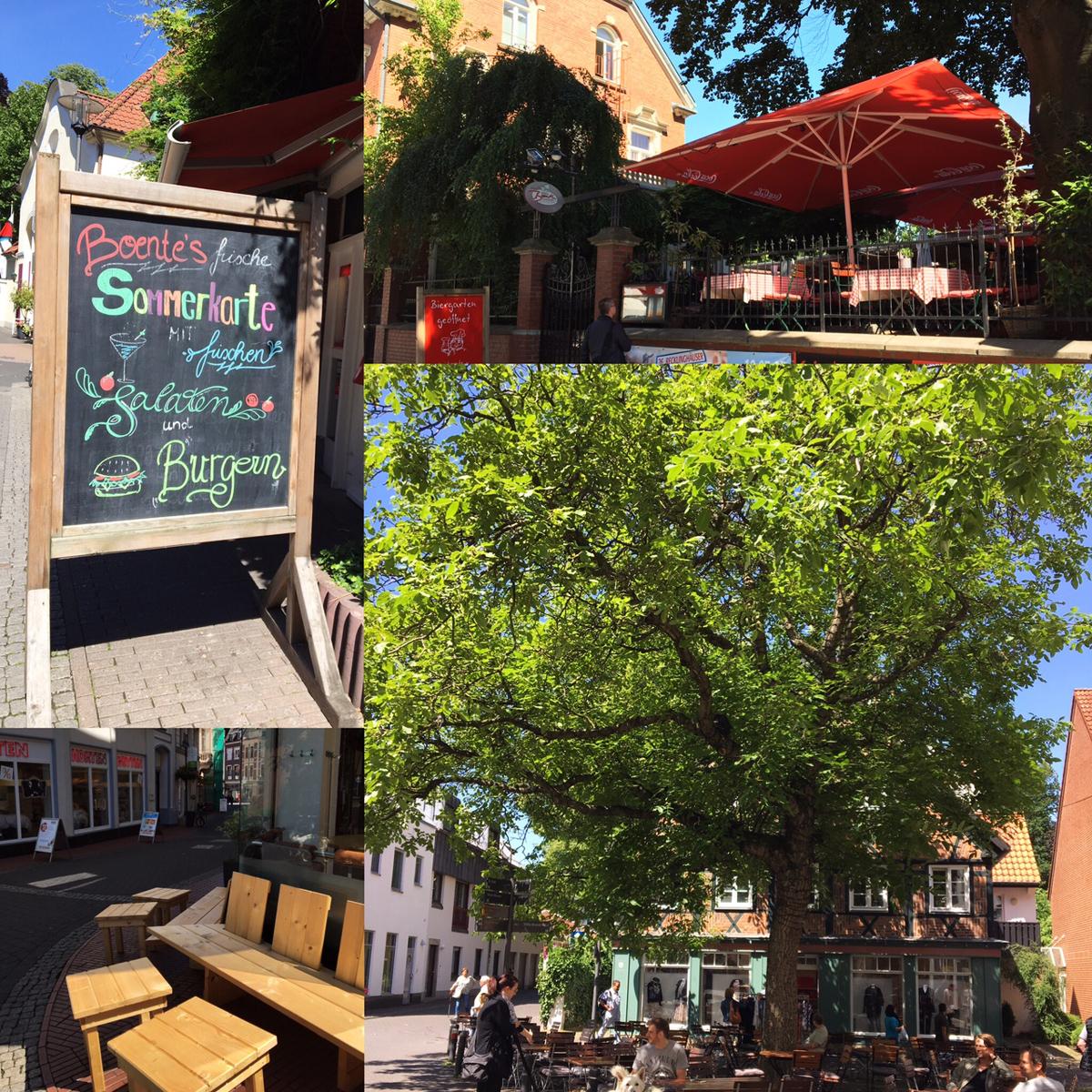 Brauerei Boente und Café Eckstein in Recklinghausen