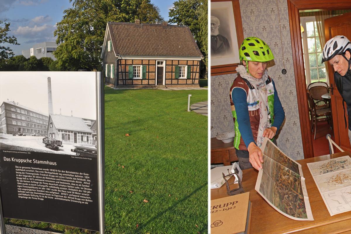 Im historischen Stammhaus der Familie Krupp