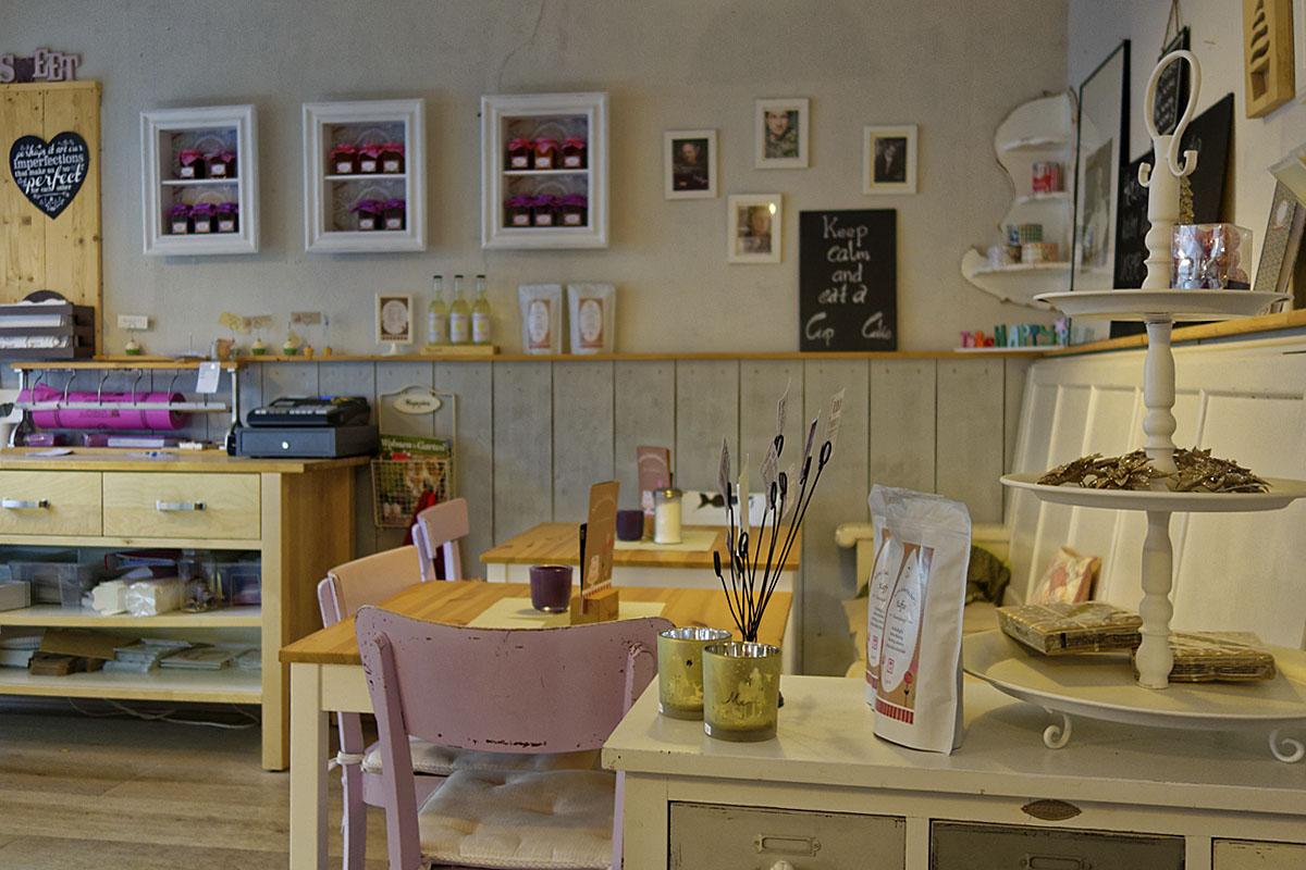 Das Foto zeigt das Café Kleine Zuckerbäckerei in Bochum