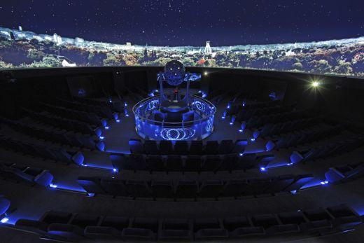 Das Foto zeigt das Zeiss Planetarium in Bochum