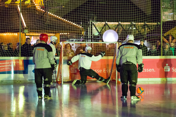 Polarsoccer-WM bei ESSEN.ON ICE.