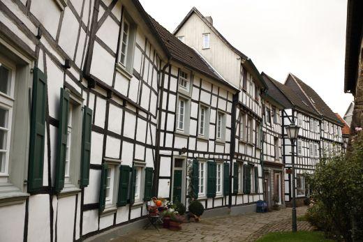 Das Foto zeigt die Altstadt von Hattingen