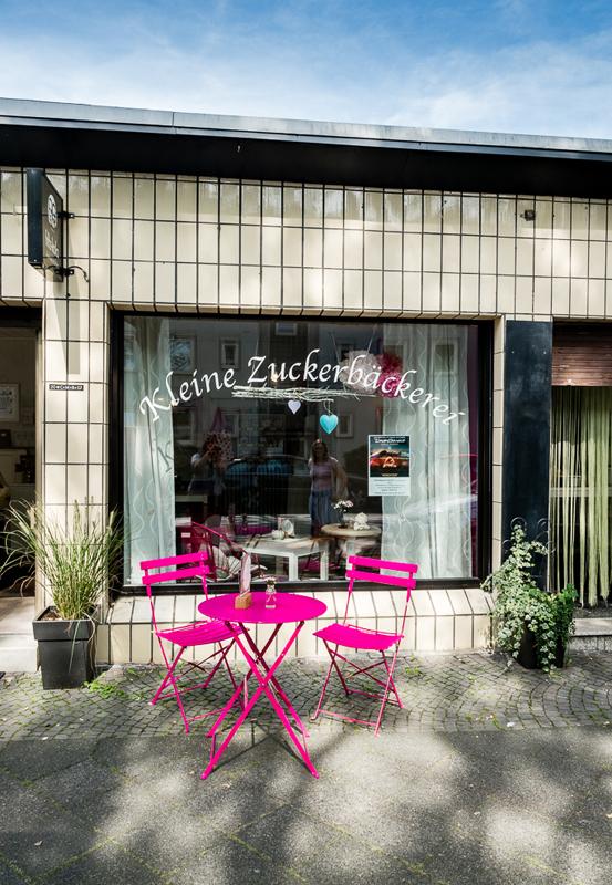 Das Bild zeigt die Kleine Zuckerbäckerei von außen
