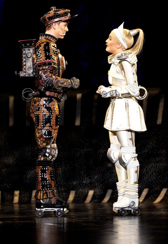 Das Foto zeigt Rusty und Pearl im Duett