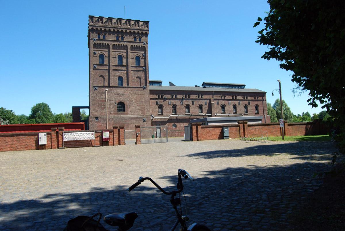 Das Foto zeigt die Zeche Hannover in Bochum