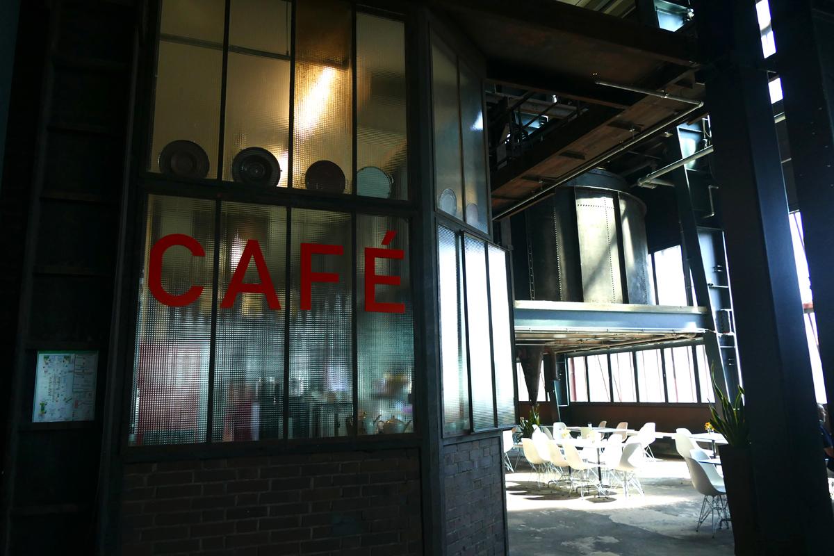 Das Bild zeigt das Café Kohlenwäsche