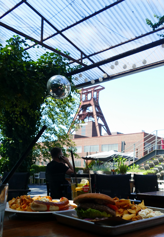 Casino Zollverein Biergarten