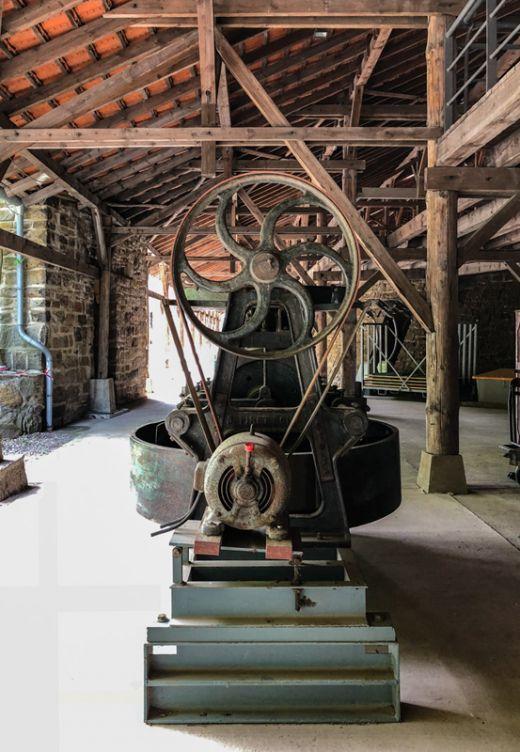 Das Foto zeigt das Museum der Zeche Nachtigall in Witten
