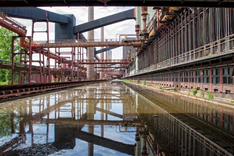 Das Bild zeigt das UNESCO-Welterbe Zollverein
