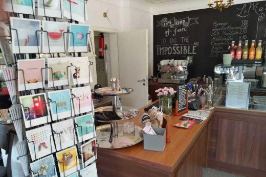 Das Bild zeigt den kleinen Shop im LiMa's.