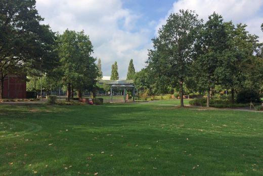 Das Foto zeigt die MüGa in Mülheim an der Ruhr