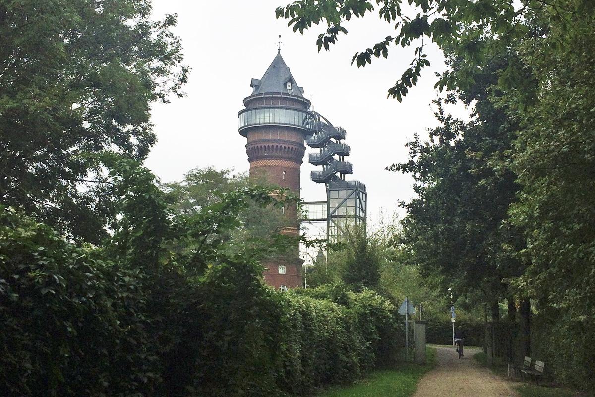 Das Foto zeigt das Aquarius Wassermuseum in Mülheim an der Ruhr