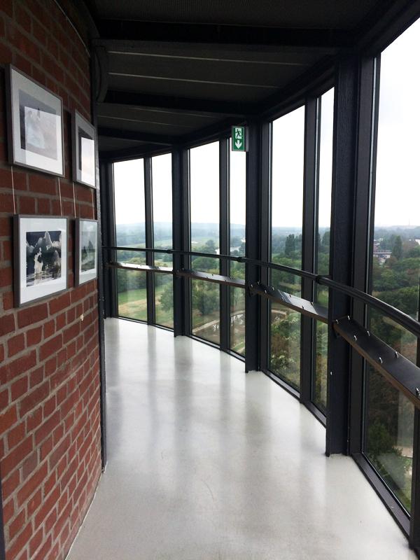 Das Foto zeigt einen Teil des Aquarius Wassermuseum in Mülheim an der Ruhr