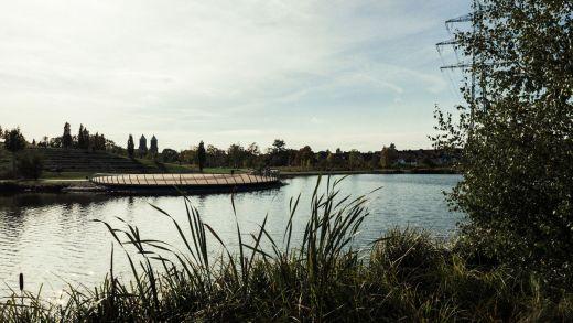 Das Bild zeigt den Krupp-Park in Essen
