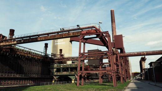 Das Bild zeigt die Kokerei Zollverein