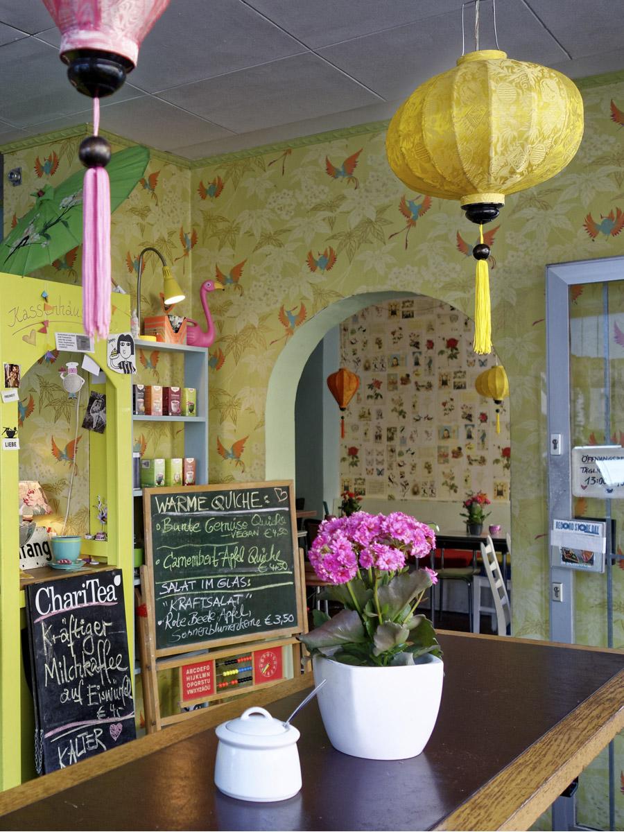 Das Foto zeigt das Fräulein Coffea in Bochum