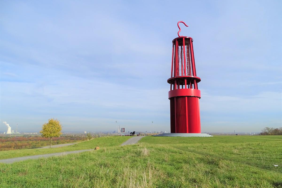 Das Geleucht auf der Halde Rheinpreußen