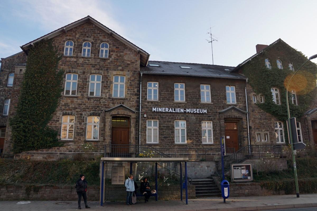 Das Bild zeigt das Mineralien Museum in Essen Kupferdreh