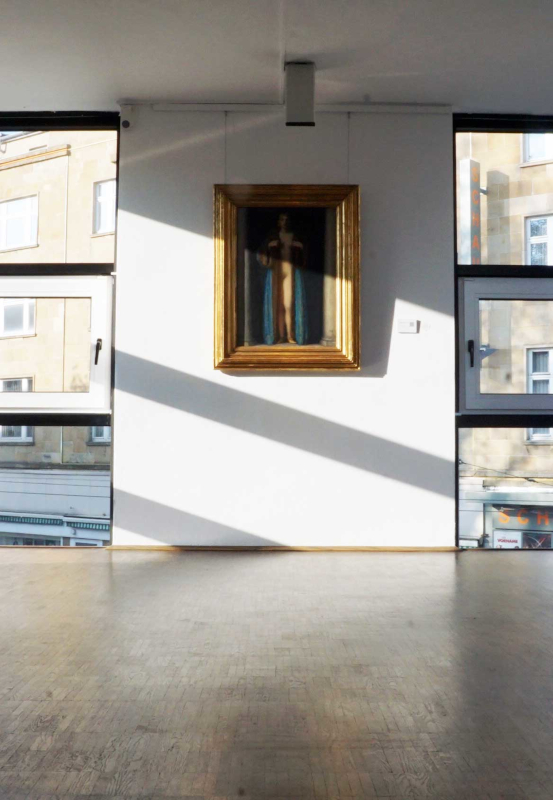 Das Bild zeigt ein Ausstellungsstück im Kunstmuseum in Gelsenkirchen