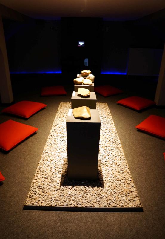 Das Bild zeigt das Innere des Mineralienmuseum in Essen