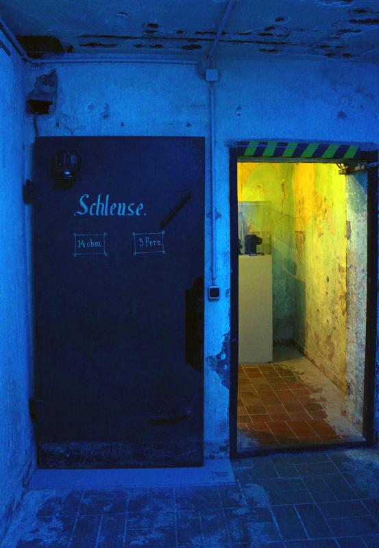 Das Bild zeigt das Innere des Bunkermuseum in Oberhausen