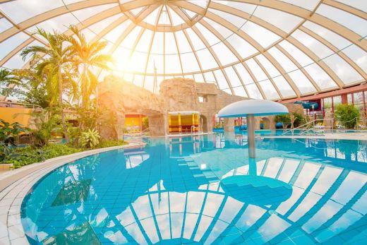 Das Foto zeigt das Schwimmbad Atlantis Dorsten