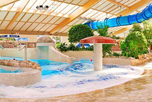 Das Foto zeigt das Schwimmbad Aqua Fun Soest