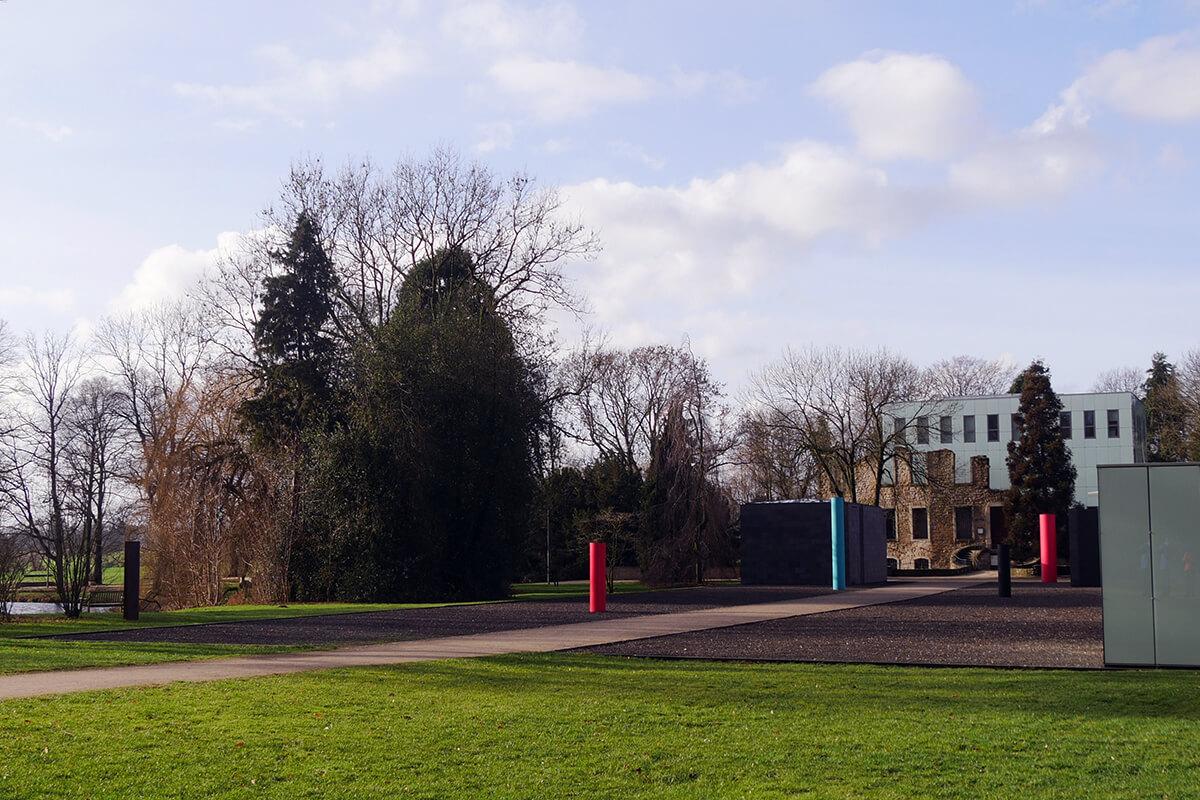 Das Foto zeigt den Schlosspark in Bochum-Weitmar