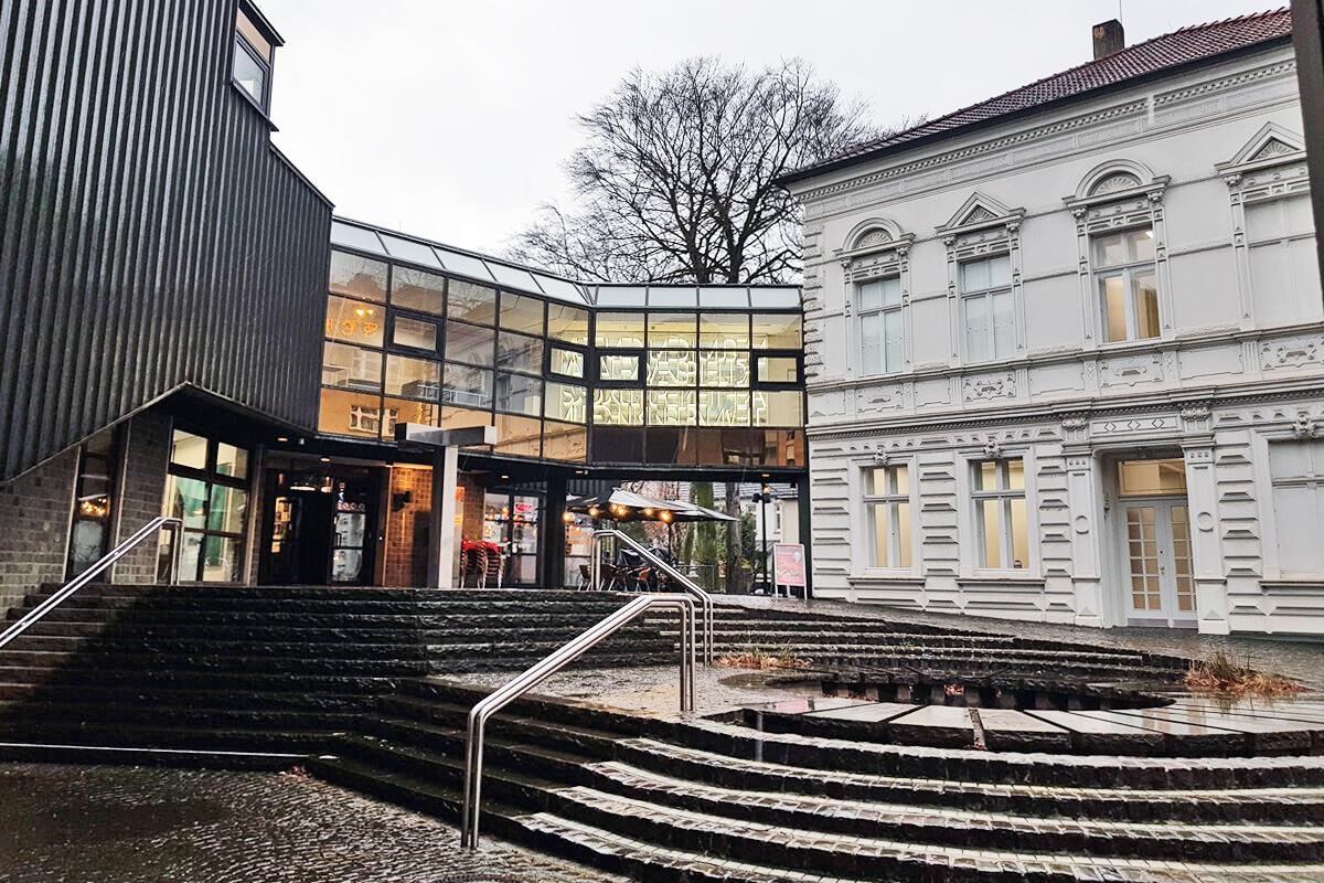 Das Foto zeigt das Kunstmuseum Gelsenkirchen von außen