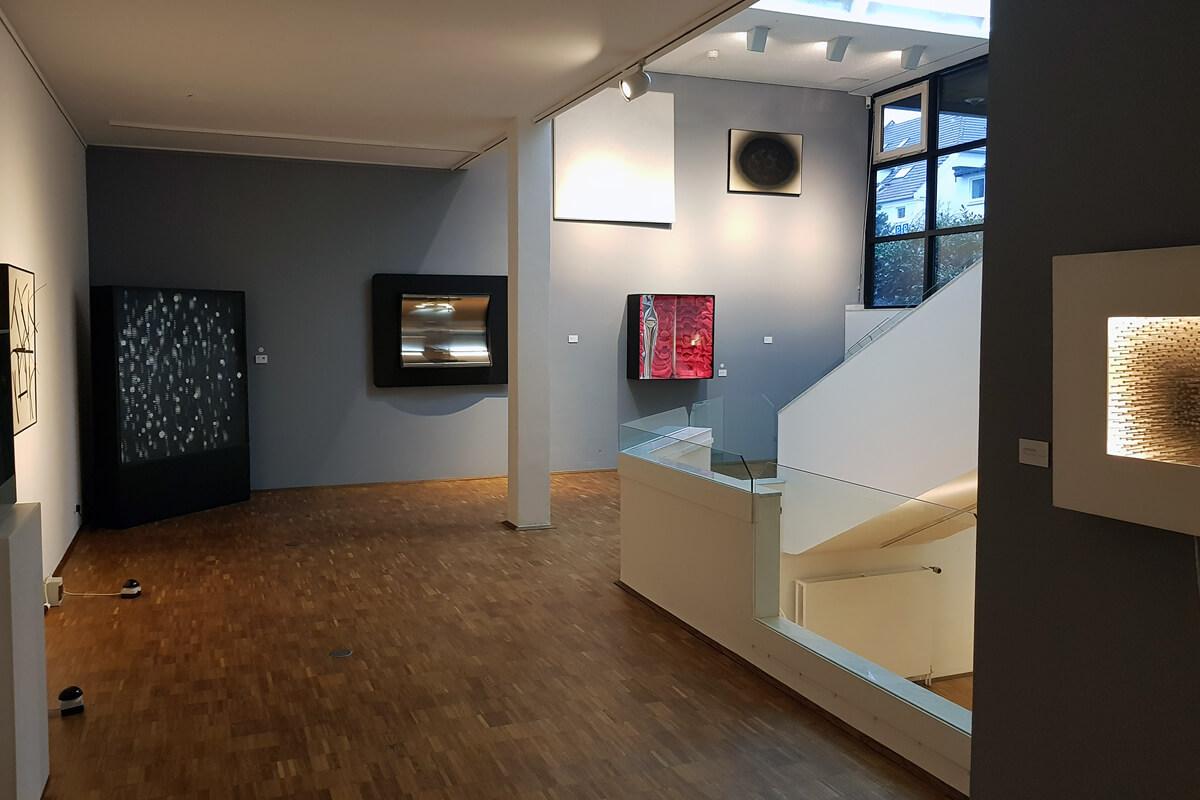 Das Foto zeigt Kunstwerke im Kunstmuseum Gelsenkirchen