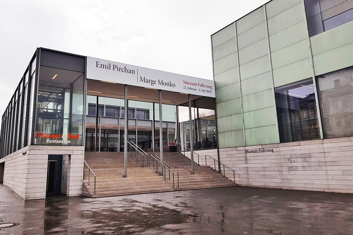 Das Foto zeigt das Museum Folkwang von außen