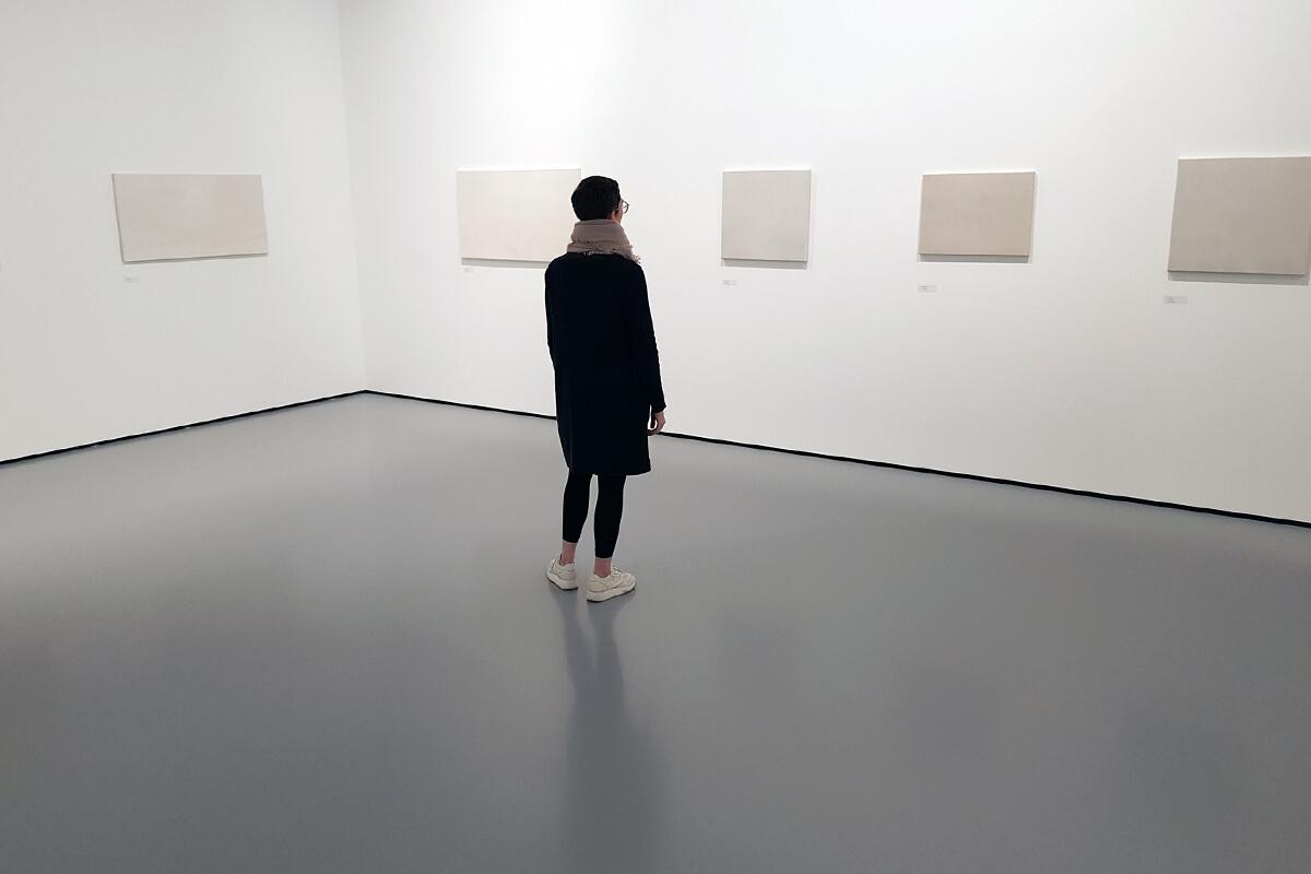 Das Foto zeigt Blogautorin Britta im Museum unter Tage