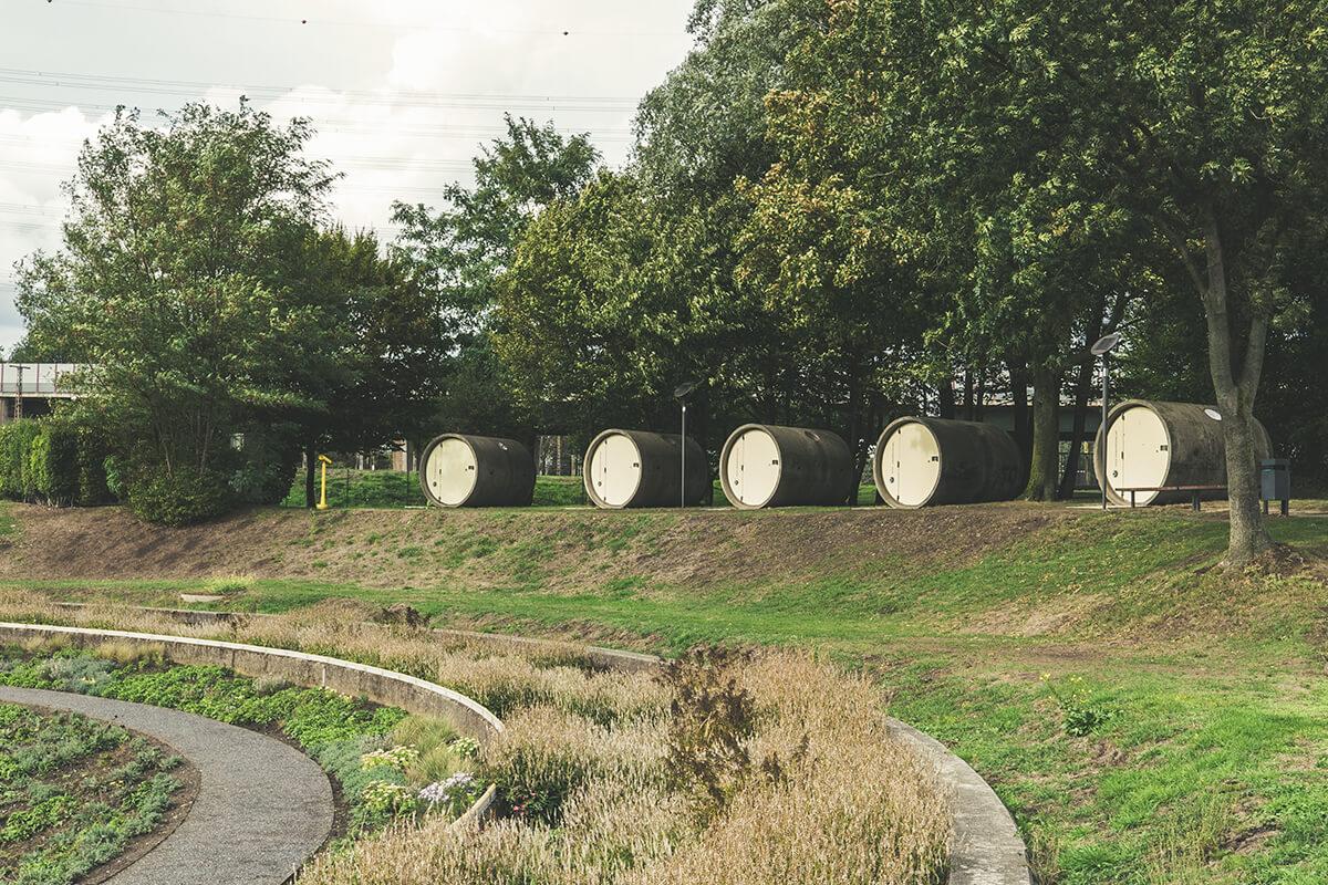 Das Foto zeigt das Parkhotel im Bernepark Bottrop