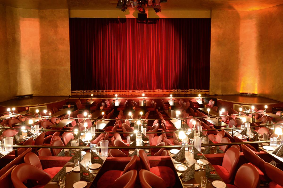 Das Bild zeigt das GOP Varieté Theater in Essen