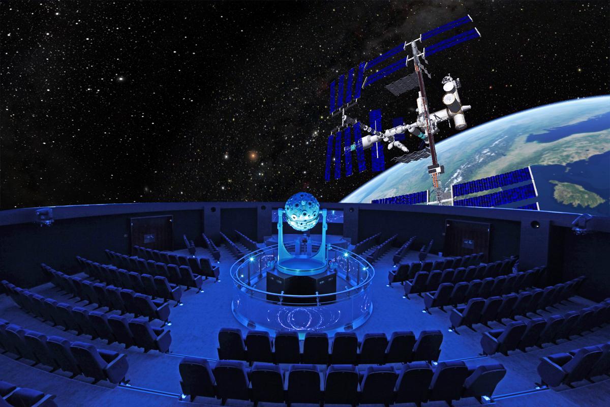 Das Bild zeigt das Planetarium Bochum