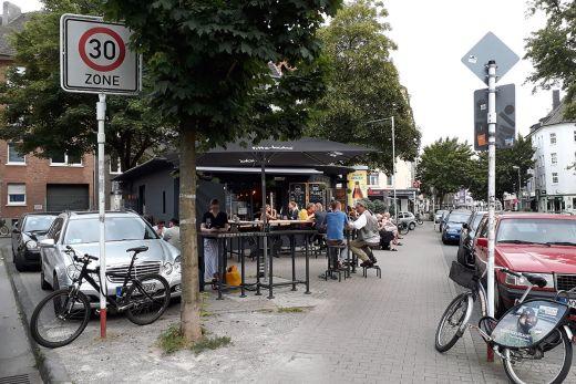Das Foto zeigt die Bude 116 einhalb in Dortmund