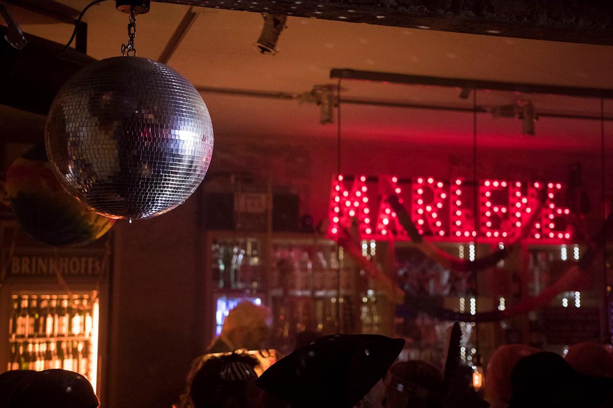 Das Foto zeigt die Marlene Bar in Dortmund