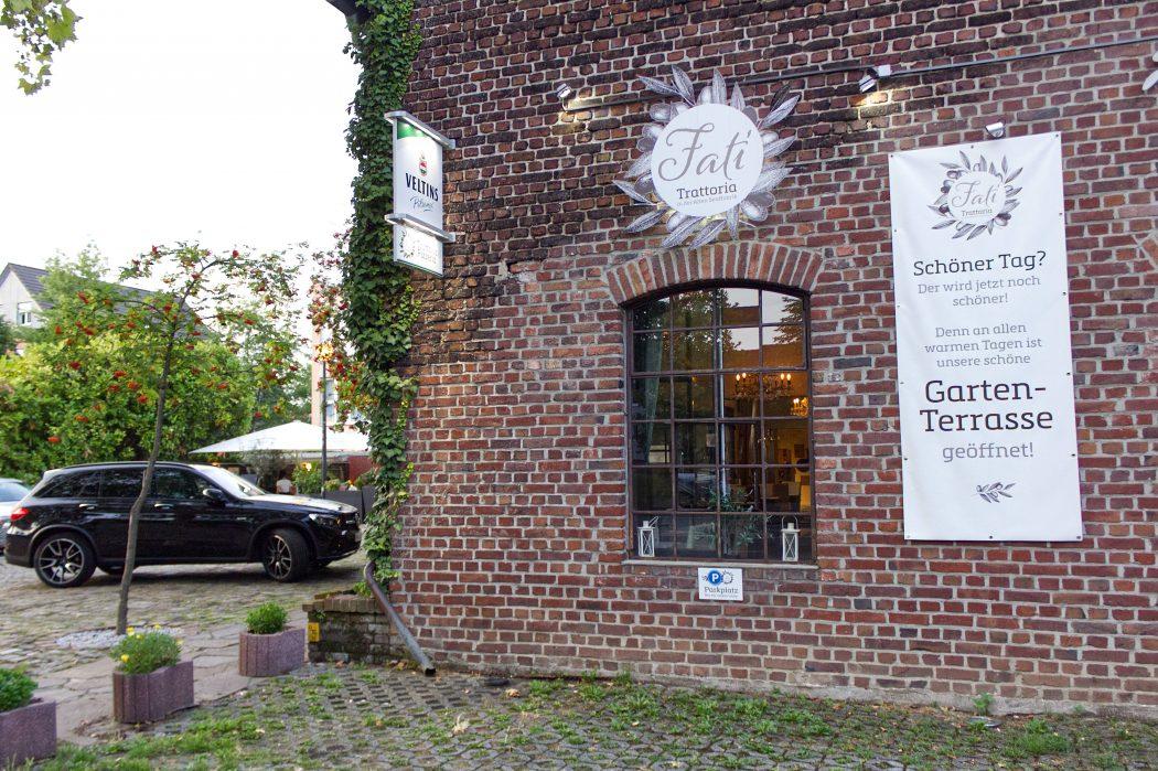 Das Foto zeigt die Trattoria Fati in Mülheim an der Ruhr