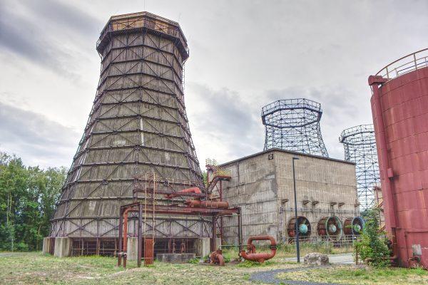 Das Foto zeigt einen Teil des Geländes des UNESCO-Welterbes Zollverein in Essen